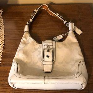 Coach off white purse